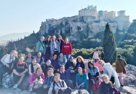 """Alumnas del Colegio """"Isabel la Católica"""" visitaron Atenas"""