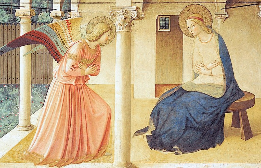 """Annuntiation"" (Fra Angelico)"
