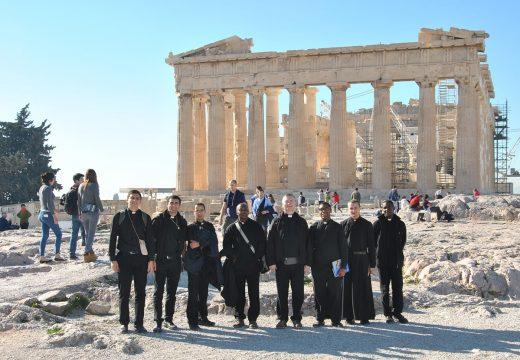 Seminaristi dell'IVE tra le orme dell'Apostolo Paolo in Grecia
