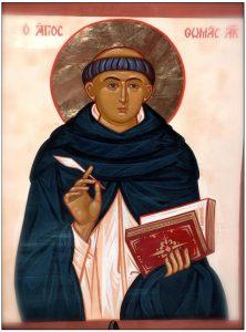 εικόνα του Αγίου Θωμά Ακυινάτη